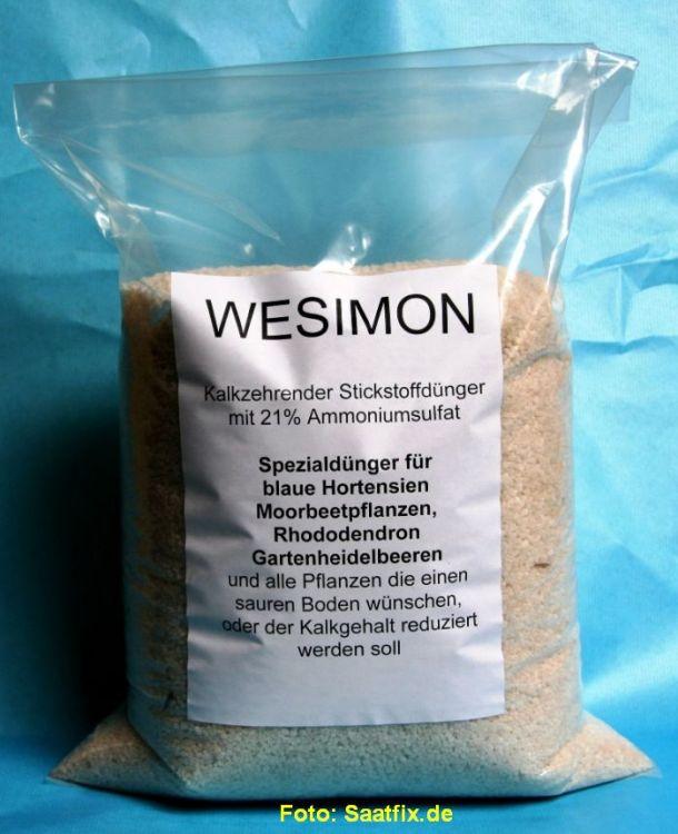 wesimon ammoniumsulfat 5 kg saatfix blumenzwiebel shop. Black Bedroom Furniture Sets. Home Design Ideas